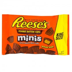 Reese's Peanut Butter Cups Mini King Size 71g 034000470228
