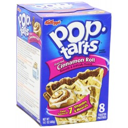 Pop Tarts Frosted Cinnamon Roll (confezione da 4x2) 038000232671