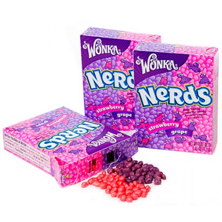 Willy Wonka Nerds Grape Strawberry - Uva e Fragola