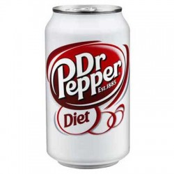 Dr Pepper Regular Diet 355ml
