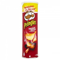 Pringles Bacon affumicato 200g