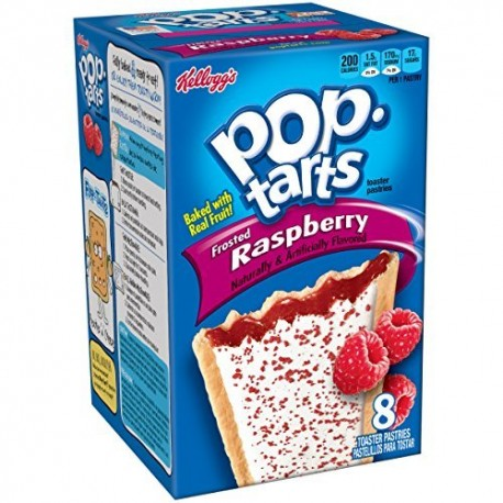 Pop Tarts Frosted Raspberry - Lampone