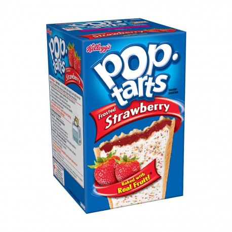Pop Tarts Frosted Strawberry - Fragola