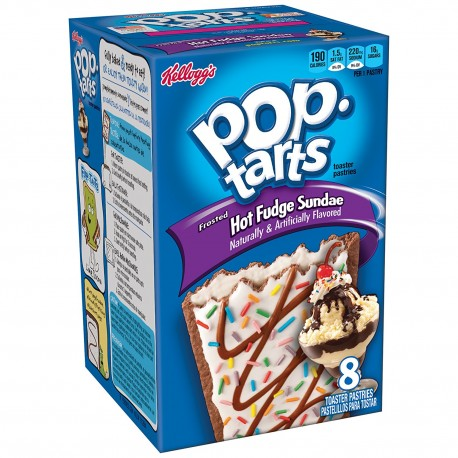 kellogg's Hot Fudge Sundae Pop Tarts 400g