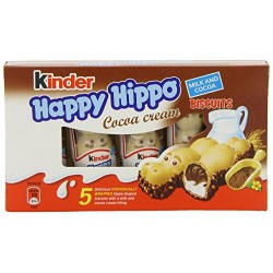 Kinder Happy Hippo Cocoa Cream 5 Pack 130g