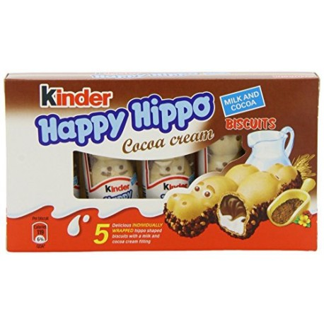 Kinder Happy Hippo Cocoa Cream 5 Pack