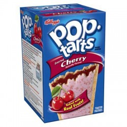 Kellogg's Pop tarts Frosted Cherry (4x2) 416g