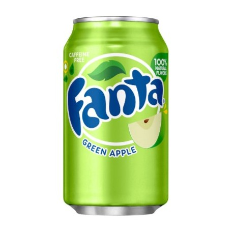 Fanta Green Apple - mela verde 355ml