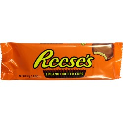 Reese's 3 Peanut Butter Cups 034000440887