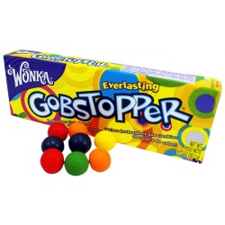 Willy Wonka Everlasting Gobstopper Candy 50g