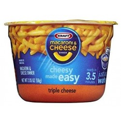 Kraft Macaroni Cheese Original Micro Cup (57g)