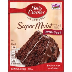 Betty Crocker Super Moist Devil's Food Cake Mix 432g