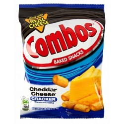 Cheddar Cheese Cracker Combos 179g