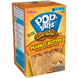 Pop Tarts Gone Nutty Peanut Butter confezione 3x2