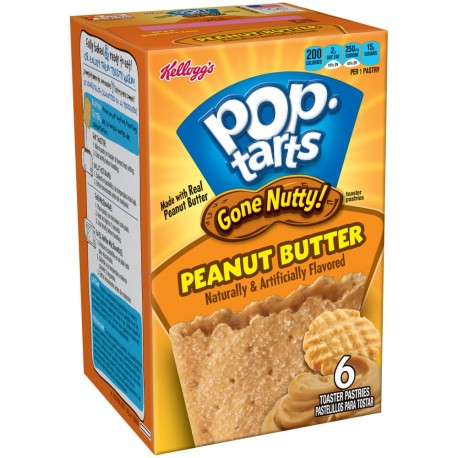 Pop Tarts Gone Nutty Peanut Butter confezione 1x2