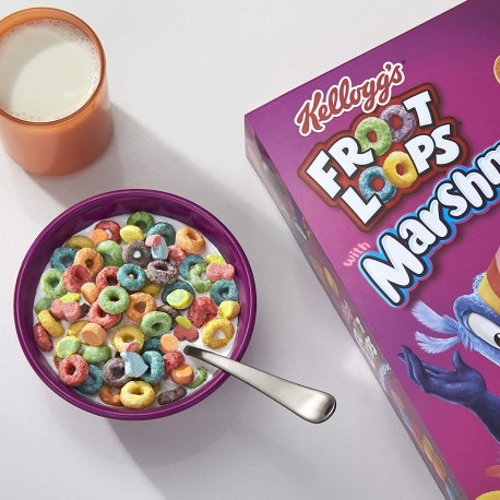 kellogg's Froot Loops Marshmallow cereal 297g