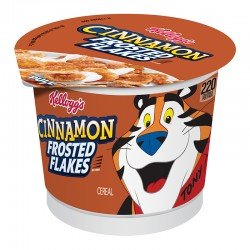 Kellogg's Frosted Flakes Cinnamon Cereal Cups 60g