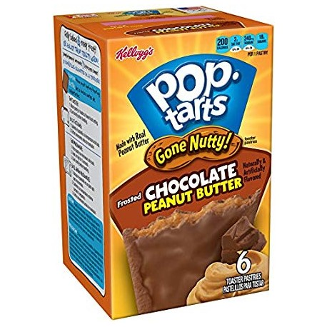 Pop Tarts Gone Nutty Chocolate Peanut Butter confezione 3x2 300g