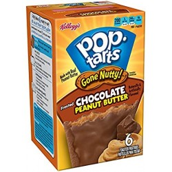 Pop Tarts Gone Nutty Chocolate Peanut Butter confezione 2x1 100g