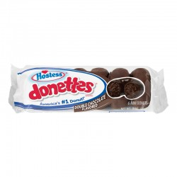 Hostess Double Chocolate Flavoured Donettes 85g