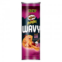Pringles Wavy Sweet & Tangy BBQ(137g)