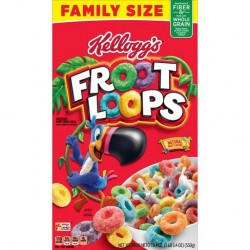 KELLOGG'S FROOT LOOPS LARGE SIZE 417g