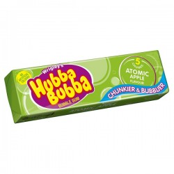 Hubba Bubba Bubblegum Atomic Apple Flavour 40099330