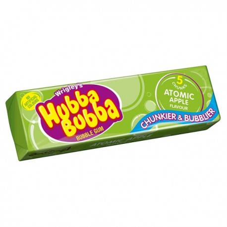 Hubba Bubba Bubblegum Atomic Apple Flavour