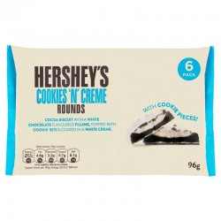 Hershey's Cookies 'N' Crème Rounds 96g