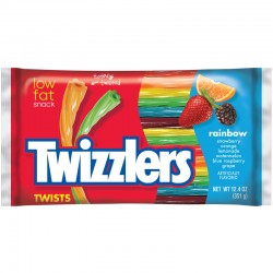 Twizzlers Rainbow Twists Big Bag 351g