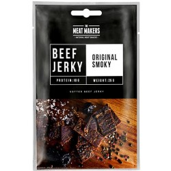 The Meat Makers Beef Jerky Original Smoky 25g