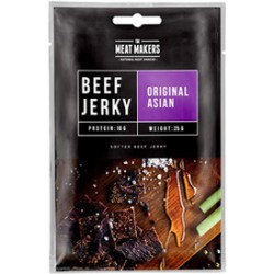 The Meat Makers Beef Jerky Original Asian 25g