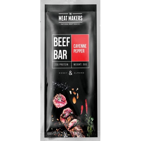 The Meat Makers Beef Bar Cayenne Pepper 50g