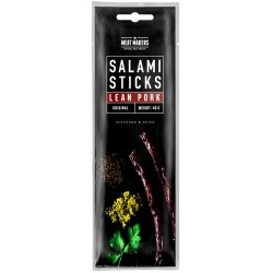 The Meat Makers Salami Sticks Lean Pork Original 40g