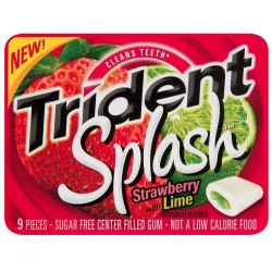Trident Spalsh Strawberry Lime Swirl