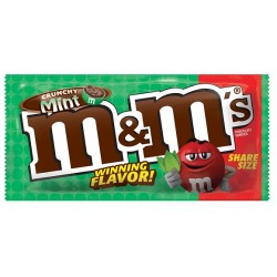 Crunchy Mint M&M's Share Size 80g