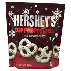 Hershey's White Creme Dipped Pretzel With Sprinkles 212g