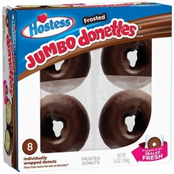 Hostess Frosted Chocolate Jumbo Donettes confezione da 8 454g