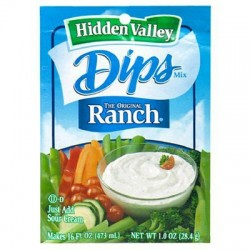 HIDDEN VALLEY RANCH DIPS SALSA IN POLVERE 28g