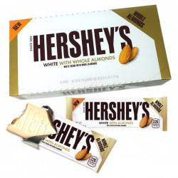 Hershey's White Crème Almonds Bar 41g