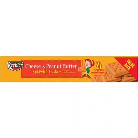 Keebler Cheese & Peanut Butter Sandwich Crackers 51g