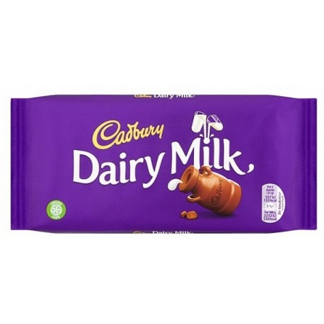 Cadbury Dairy Milk Block 110g