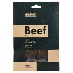 The Meat Makers Beef Jerky Original Premium Quality 40g
