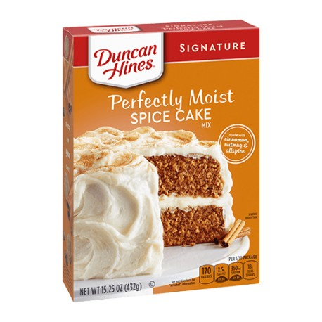 Duncan Hines Signature Perfectly Moist Spice Cake Mix 453g