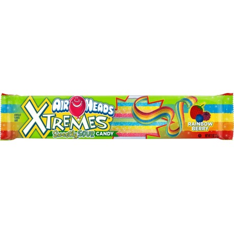 Airheads Xtreme Rainbow Berry Sour Belts