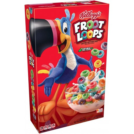 Kellogg's Froot Loops Large Size 481g