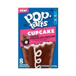 Pop Tarts Frosted Chocolate Cupcake 384g