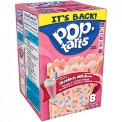 Kellogg's Pop Tarts Frosted Strawberry Milkshake (4x2)