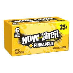 Now & Later Chewy Pineapple Ananas 26g