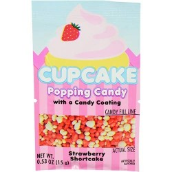 Cupcake Popping Candy Strawberry 15g